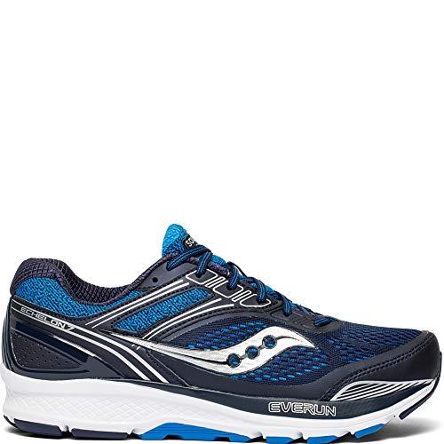 Saucony Men's Echelon 7 Running Shoe, Navy | Blue, 7 M US