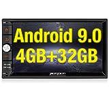 💛 Das Betriebssystem: Android 9.0 Pie, Arbeitsspeicher (RAM): 4GB, Interner Speicher (ROM): 32GB, Hauptprozessor(CPU): Octa Core Prozessor, mehr Speicher für Apps-Installtion, Bildschirmauflösung: 1024x600, Ausgangsleistung: max. 4x50W, Eingebauter M...