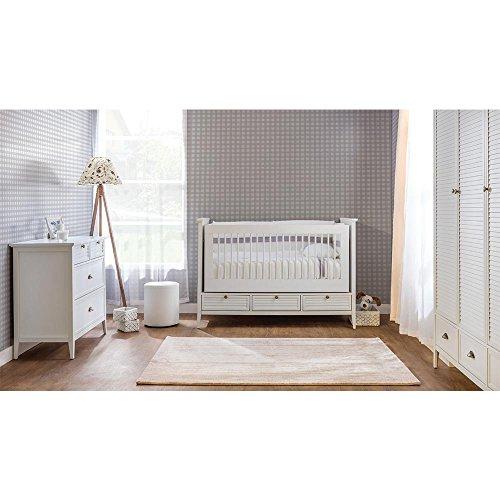 Mitwachsendes Babyzimmer, Babymöbel, Kinderzimmermöbel, Kinderzimmer, Möbel (Trady)