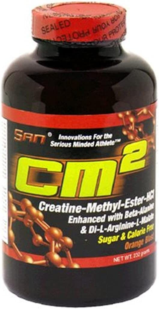 SAN CM2 Creatine-Methyl-Ester-HCl Popular product Orange online shopping 232 grams Blast