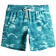 """Material: 95%Polyester 5%Spandex. Made out of our 4-way stretch fabric, breathable in hot summer, lightweight and comfortable . The """"4-way stretch"""" material can make the fabric stretch in four directions by adding spandex, which makes our beach sport..."""