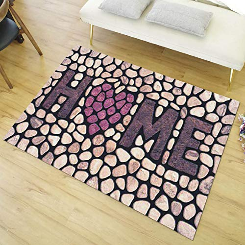 Doormat carpet Valentine's Day welcome doormat household carpet decoration carpet living room floor decoration bathroom non slip carpet doormat