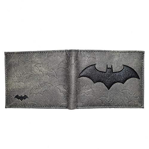 Cartera de diseño Fresco Carteras de Batman Monedero de Cuero de PU para Hombre niño