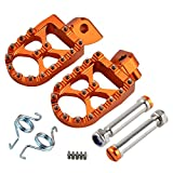 Luyangyund Reposapiés Foot Pegs estribera Pin for KTM 125 150 250 350 450 530 950 990 1290 SX SXF EXC EXCF XC XCF XCFW de Super Enduro Adeventure (Color : Set)