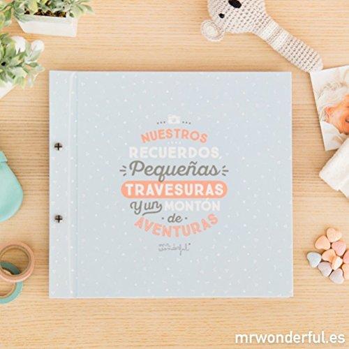 Álbum infantil Mr. Wonderful - Nuestros recuerdos, pequeñas travesuras y un montón de aventuras