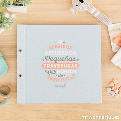 Álbum infantil Mr. Wonderful - Nuestros recuerdos, pequeña