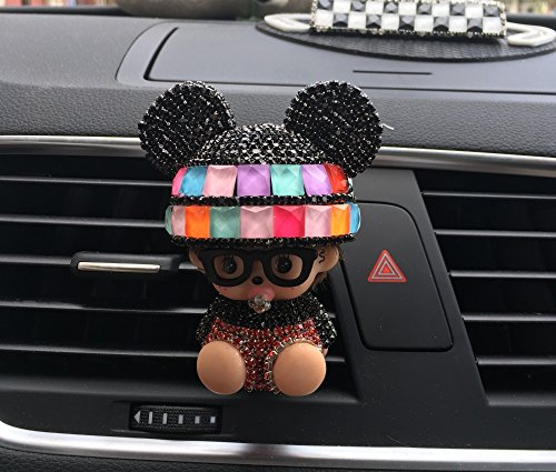 Lanitta/difusor ambientador de coche original Hombre/Mujer, Varios Modelos & Colores para Elegir, decoración interior para coche, Accesorio para coche. Idea para regalo original