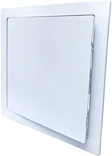SUMASAI Plumbing Access Panel Access Panel 8 x 8 inch Access Door with Removable Hinged Door. Durable Plastic Drywall Access Panel