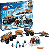 LEGO City Arctic Mobile Exploration Base Toy, Crane Vehicle Platform & Trailer, Construction Toys for Kids