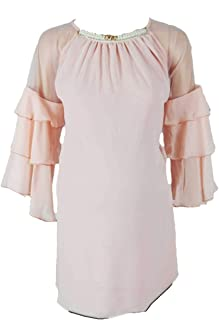 M4M Fashion Maternity Blouses For Women - Light Pink - small