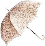 [ムーンバット] 折りたたみ傘 21-084-38470-00 レディース ベージュ 日本 60cm-(FREE サイズ)
