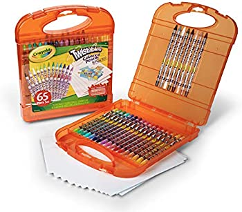 Crayola 25 Twistables Colored Pencils and 40 Sheets Of Paper Set