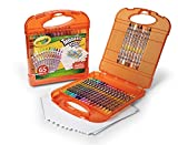 Crayola Twistables Colored Pencils Kit, 25 Twistables Colored Pencils and 40 sheets of paper