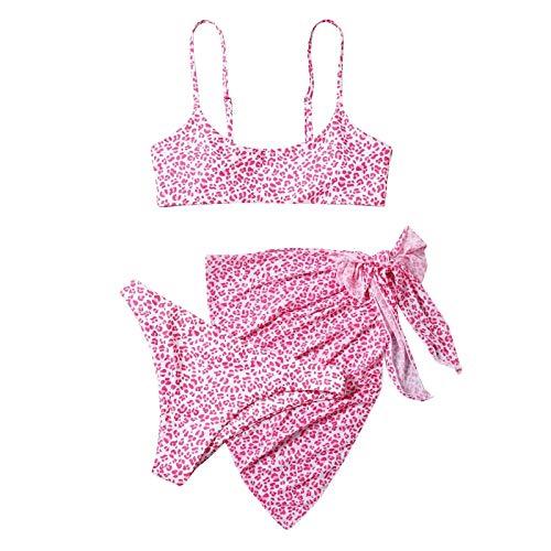 Señoras Bandeau dos piezas traje de baño ventas, 2/3 paquetes Tie Dye Polka Cow Print Sexy Bikini Split traje de baño delantal falda conjunto ventas trajes de baño mujeres ropa de natación promociones