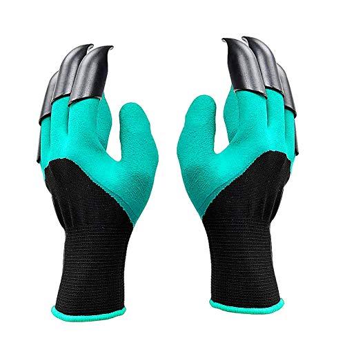 LLMZ Handschuhe Krallen Krallenhandschuhe Garten Wasserdicht Langlebig Stichsichere Safe Gartenarbeit Handschuhe