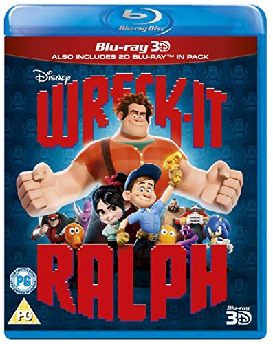 Wreck-It Ralph [Blu-ray 3D + Blu-ray] [2012] [Region Free]