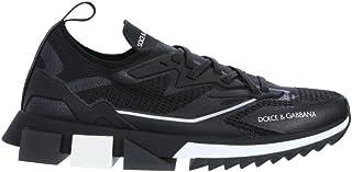 Luxury Fashion   Dolce E Gabbana Uomo CS1822AW47689690 Nero Poliammide Sneakers   Stagione Permanente