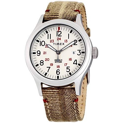 Timex Allied Quartz Movement Natural Dial Men's Watch TW2R61000