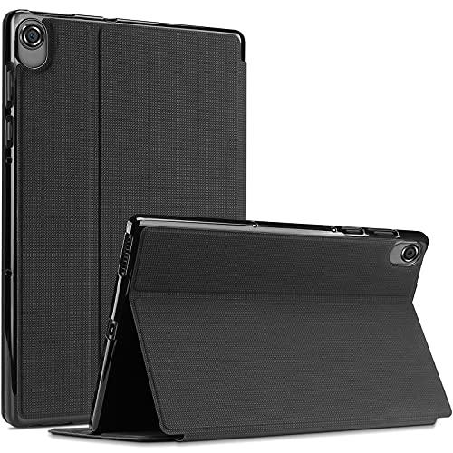 ProHülle Buchdeckel Hülle für Lenovo Tab M10 FHD Plus 10.3 Zoll (2020 2nd Gen), Buch Hülle Design Smart Cover für M10 Plus (Model: TB-X606F TB-X606X),Schutzhülle mit Auto Aufwachen/Schlaf -Schwarz