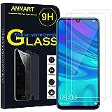 ANNART - 2 protectores de pantalla de cristal templado para Huawei P Smart (2019) 6.21' POT-LX3/POT-LX1/POT-AL00/POT-LX1AF/POT-LX2J/POT-LX1RUA, transparente