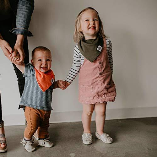 Unisex -Lunar Set Girls Parker Baby Bandana Drool Bibs 8 Pack Baby Bibs for Boys