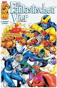 Die Fantastischen Vier Vol. 3, # 2 Unnatürliche Auslese, 15.3.2001, Panini Marvel Comics, Prestige Format
