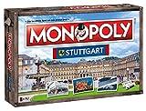 Winning Moves Monopoly Stuttgart Stadt City Edition Edition - Juego de mesa