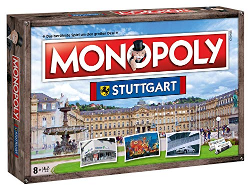 Winning Moves Monopoly Stuttgart Stadt City Edition Edition - Juego de mesa