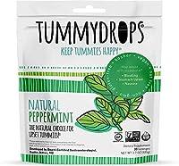 tummy drops-Peppermint(タミードロップスープレミアム・ペパーミント・キャンディー)  30粒入,3 セット[並行輸入品]