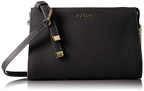 Furla, borsa Furla modello Luna, misura S, dimensioni: 21 cm, colore: nero