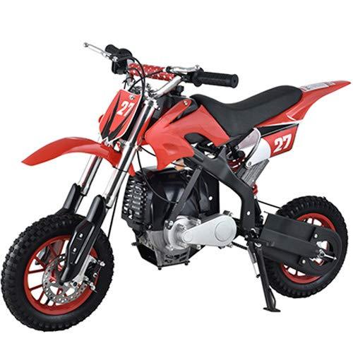 X-PRO 40cc Kids Mini Dirt Bike Pit Bike Dirt Bikes Gas Power Bike Off Road Motorcycle,Red