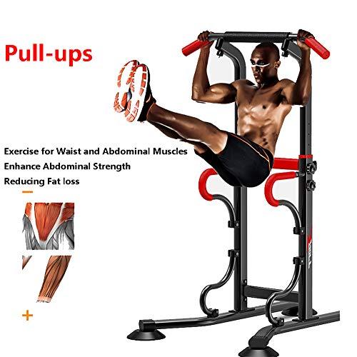QXT Multifunktionale Indoor-Fitnessgeräte Horizontal Bar Einzel- / Parallel Bar Pull Up Trainer Körper Buliding Arm Rückenübung, für jeden geeignet