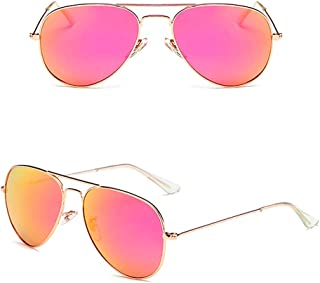 KATCOCO LIGHTWEIGHT Polarized Aviator Sunglasses for men and women WITH CASE 100% UV Protection 58MM