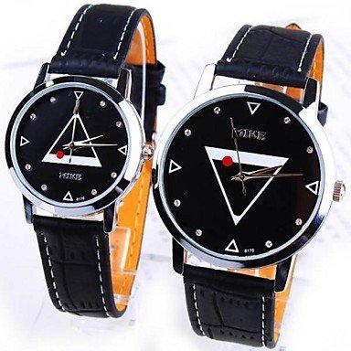 Fenkoo kreative Mode schwarz und weiß, Männer und Liebhaber Frauen wasserdichte Studenten Freizeitmode Uhren zu sehen