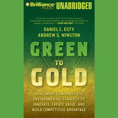 Green to Gold audiobook cover art