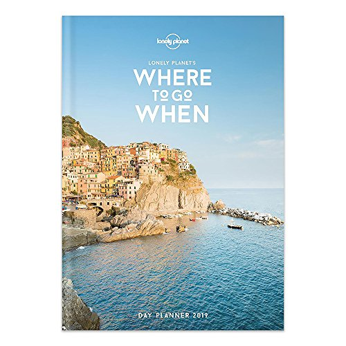 2020 Lonely Planet Travel Weekly Monthly Hard Planner