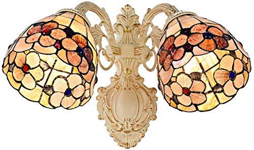 Wandlamp, kunst, Tiffany-klok, glas, kleurrijke lampen, wandlampen, complexe processen, grote kamer, decoratie van glas, metaal