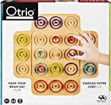 Otrio Wood Strategy-Based Board Game for Adults, Families and Kids Ages 8 & up