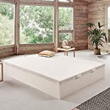 Canapé abatible Wood de Home Medida 150x190 cm Color Blanco