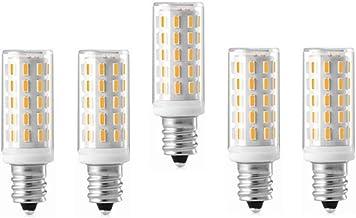 SGJFZD No Flicker E12 Led Light Bulb AC110-240V 5W 54LEDs SMD 4014 LED Corn Bulb Lamp High Power LED Spotlight for Crystal...