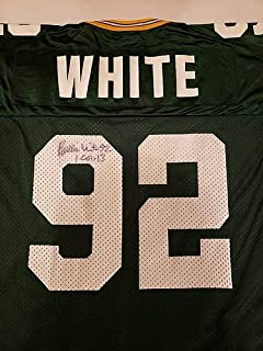 Reggie White Autographed Signed Jersey Green Bay Packers Memorabilia JSA