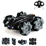 Remote Control Car, RC Stunt Car for Kids Outgeek 2.4Ghz 360°High-Speed Rotation Double Sided Drift in All Direction Dual-Color Headlights Toy Cars Gift for Boys & Girls Birthday