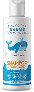 Hamilton Babies: Talented Tenny Shampoo & Body Wash - Baby Shampoo - 10 fl oz - Tear-Free, Hypoallergenic, Natural, Softens Hair and Skin - Botanical Ingredients, Phthalate-Free, Sulfate-Free