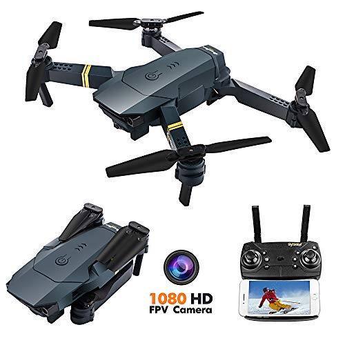FCONEGY FPV Drone with 1080P HD Camera RC Quadcopter Altitude Hold by Air Pressure One Key Take...