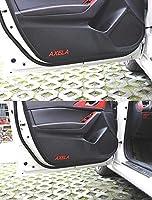 アクセラ AXELA BM BY 対応 ドア トリム ガード フィルム ブラック 内装 ドレスアップ カスタム パーツ アクセサリー