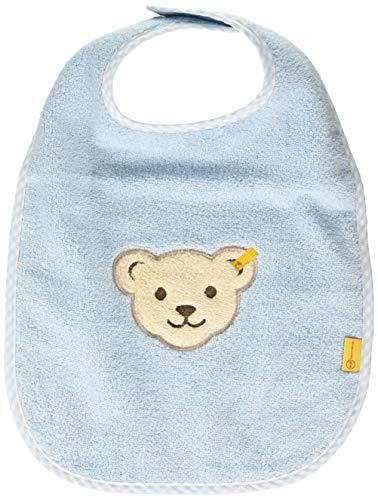Steiff Unisex Baby kuscheligem Teddybärkopf Latz, Angel Falls, One Size
