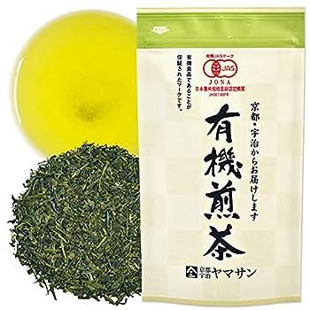Green Tea leaves Sencha JAS Certified Organic,Japanese Uji-Kyoto 80g Bag 【YAMASAN】