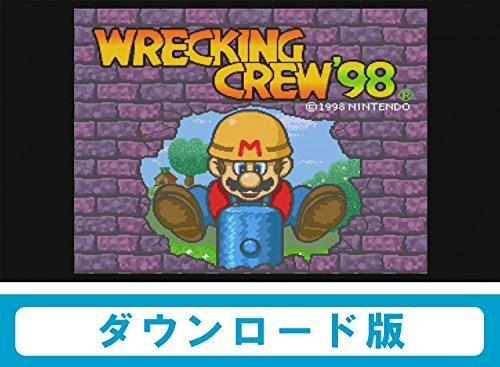レッキングクルー'98 【WiiUで遊べる スーパーファミコンソフト】|オンラインコード版