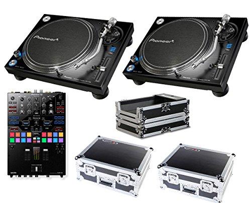 Sale!! 2x Pioneer PLX-1000 + DJM-S9 + Odyssey Cases