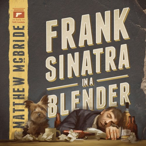 Frank Sinatra in a Blender audiobook cover art